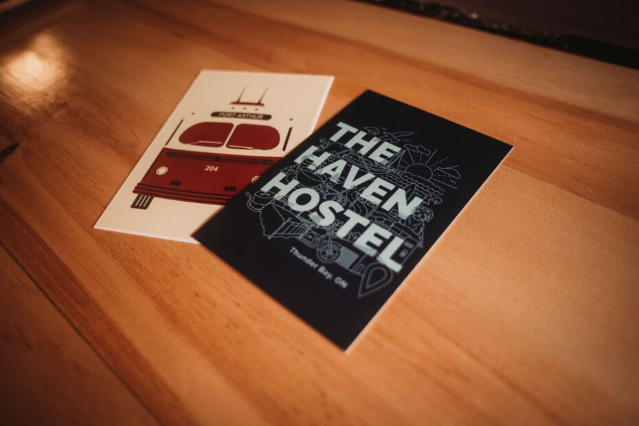 knife fight press port arthur and the haven hostel post cards
