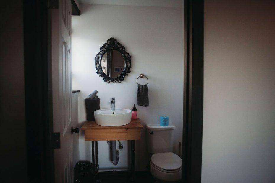 private bohemian bathroom