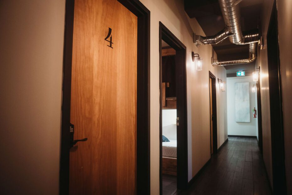 dormitory rooms and provate rooms that are super clean